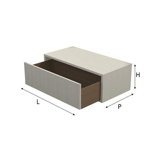 il cassetto modulo q box con cassetto in melaminico su misura