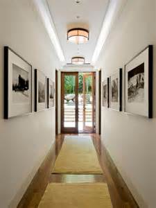 Horizontal Wall Decor Easy Ways To Make Your Hallways Look Bigger Amp Brighter