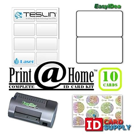 how to make an id card at home complete print home kit makes 10 pvc like id cards