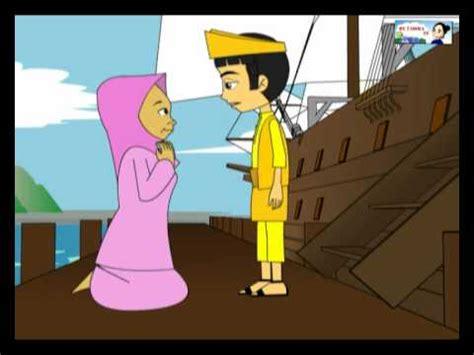film kartun anak malin kundang my tadika tv si tanggang yang derhaka animatik youtube