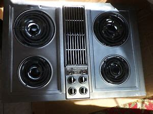 jenn air electric cooktop with grill jenn air electric cooktop with center downdraft model