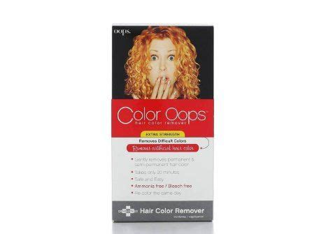 color opps color the best way to remove permanent or demi