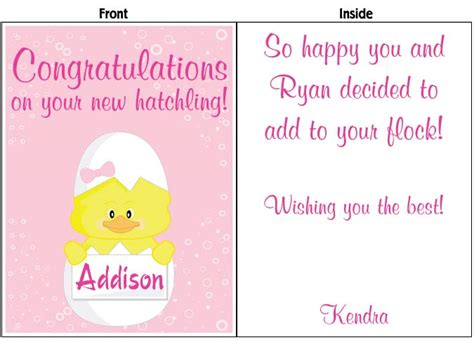 Card Expecting Baby - personalize baby shower expecting baby cards