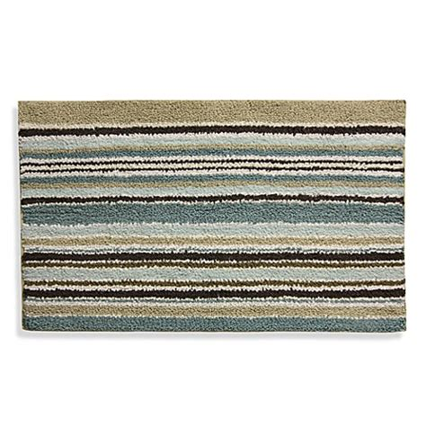 Lacey Blue And Brown Bath Rug Bed Bath Beyond Brown And Blue Bathroom Rugs