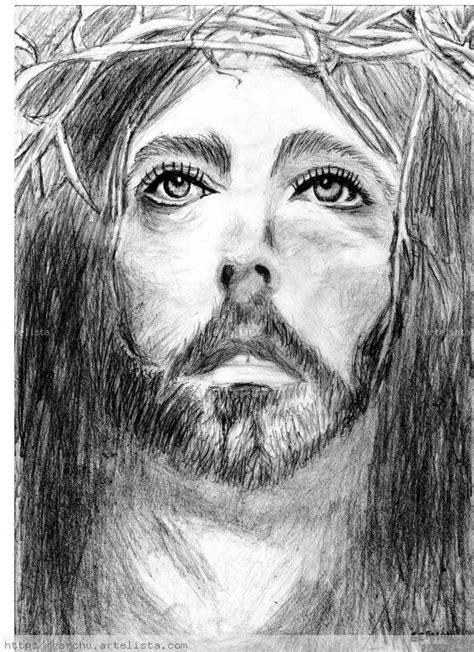 dibujos a lapiz de cristo dibujos a lapiz imagenes a lapiz de jesus imagui