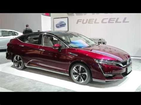2017 honda clarity fuel cell first look and overview   doovi
