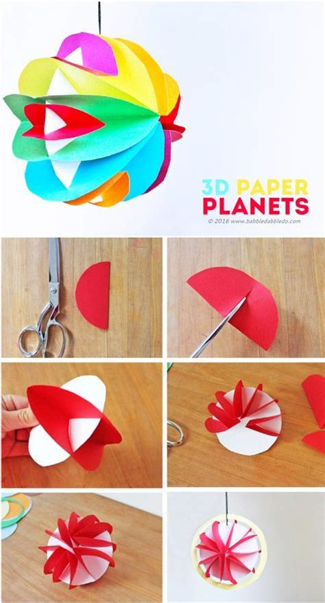 Paper Crafts On - best 25 planet crafts ideas on space crafts