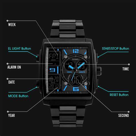 Skmei Jam Tangan Digital Sporty Pria 1304 Black skmei jam tangan analog digital sporty pria 1274 black