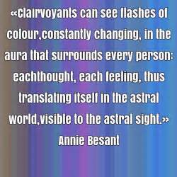 Besant In Essay by Besant Quote About Aura Changing Colour Constantly Each Quotes