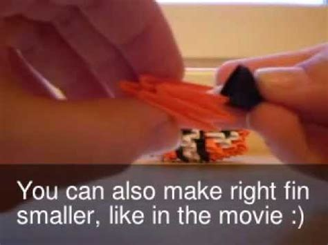 3d origami nemo tutorial how to make 3d origami finding nemo part 2 youtube