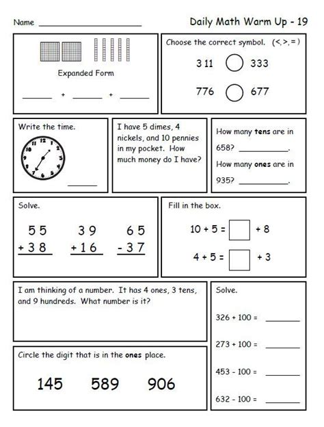Common Math Worksheets For 2nd Grade by Math For Second Grade Second Trimester 2nd Grades Math