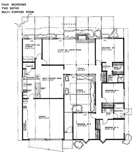 eichler homes floor plans mc 274 sle eichler floor plans eichler real estate