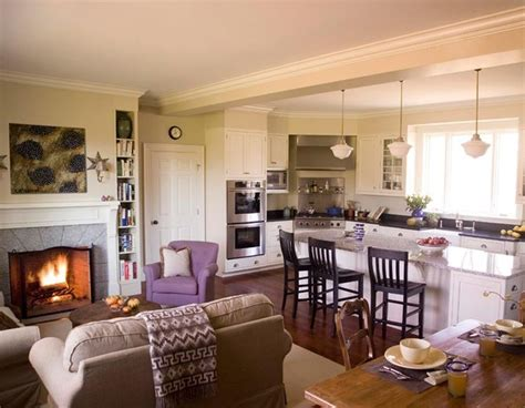 Small Open Concept Kitchen Living Room | best 25 kitchen living rooms ideas on pinterest kitchen