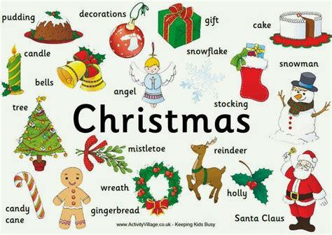 imagenes de navidad animadas en ingles vocabulario de navidad en ingl 233 s aprendiendo con julia