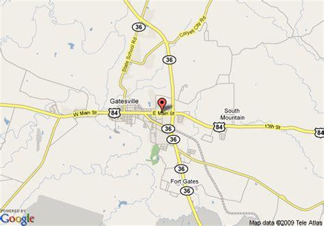 map of gatesville texas map of best western chateau ville motor inn gatesville