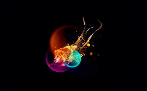 wallpaper abstract lion colorful abstract lion wallpaper 30967 imgstocks com