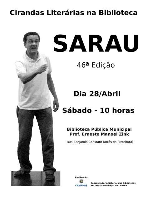 Associação de Leitura do Brasil: Sarau Literário
