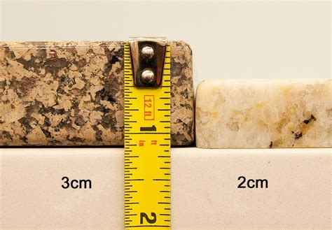 3 Cm Countertop Thickness by What Is The Difference Between 2 Cm And 3cm Granite