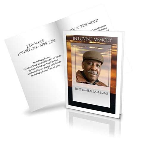 funeral program template funeral programs obituary