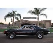 1968 Camaro Rs / Ss 427 Car 4speed 12bolt 3 73 Posi Tuxedo Black On