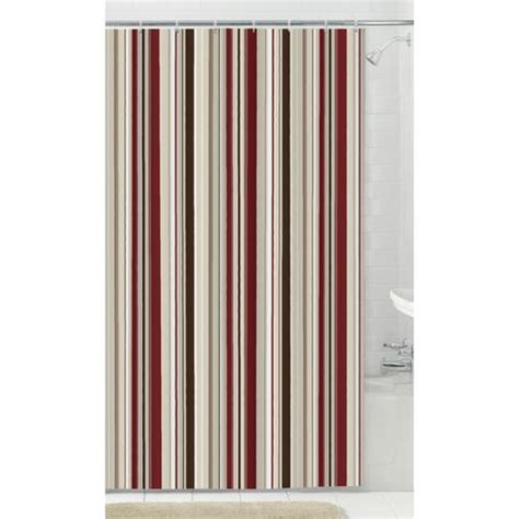 walmart ca shower curtain mainstays fabric shower curtain with 12 hooks walmart canada