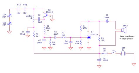 single transistor fm transmitter circuit diagram fm circuit page 3 rf circuits next gr