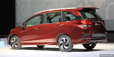 il mobilio honda mobilio rs range topper launched in indonesia image