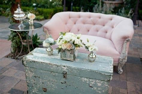 pink sofa vintage shabby chic craft and recycled items