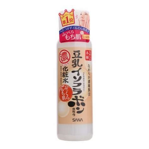 Sana Soy Milk Light Toner 200ml japan brand tokiwa yakuhin sana soy milk moisture