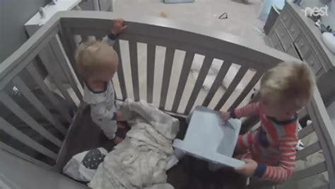 Baby Escapes Crib 7 Adorable Of Babies Escaping Oddee Howldb