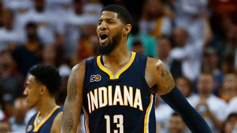 Paul George 1 Blackbuster sources pacers talk to cavs about p george the basketball biz