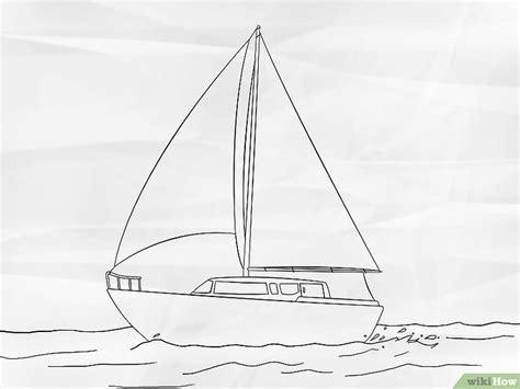 como dibujar un barco wiki how c 243 mo dibujar un velero 7 pasos con fotos wikihow
