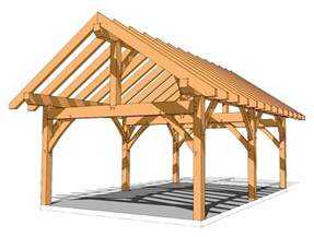 16x24 timber frame plan timber frame hq how to build a tiny house part 4 building the frame