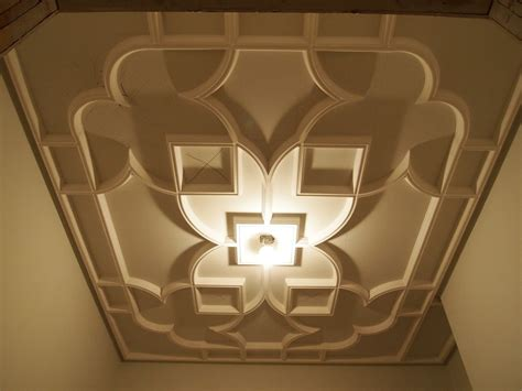 What Is A Ceiling Made Of by Made Custom Plaster Ceiling By Crown Plaster Inc