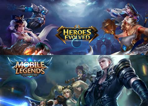 mobile legend heroes miyu s diary heroes evolve vs mobile legends