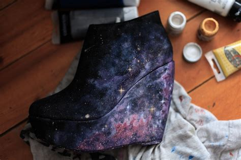 diy galaxy shoes tutorial a matter of style diy fashion diy inspiration galaxy shoes