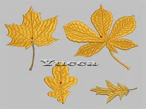free fall machine embroidery designs autumn leaves free machine embroidery design