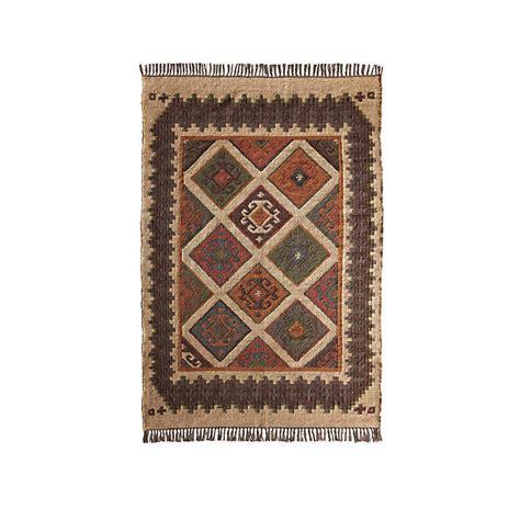 kilim rug runner wool and jute brown kilim rug runner by jones vintage notonthehighstreet