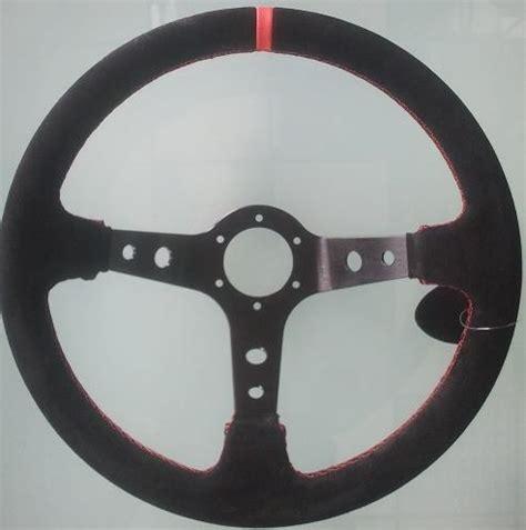 volante a calice volante competizione camoscio a calice 3 razze nere con