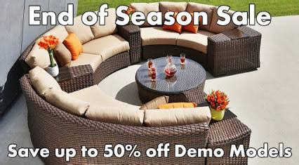 end of season patio furniture sale end of season sale decked out home and patio