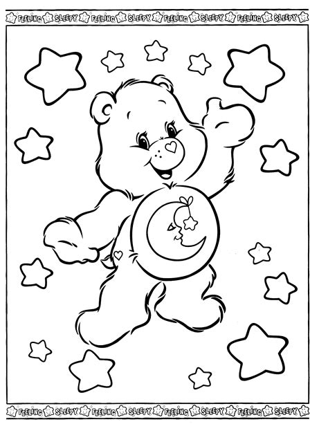 care coloring pages care coloring pages to and print for free