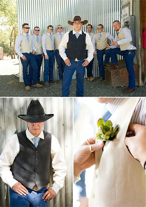 country style wedding suits best 25 cowboy groomsmen ideas on western