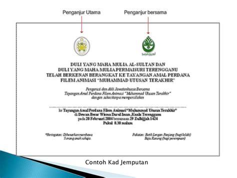 majlis rasmi koko presentation
