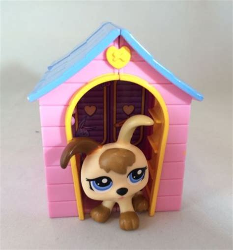 dog house shop lps littlest pet shop puppy dog lot with dog house accessory what s it worth