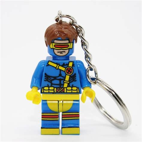 Lego Brick Sy 178 Keychain Nick Fury Minifigure Baru Lego Bricks 25 b 228 sta id 233 erna om marvel heroes builds p 229