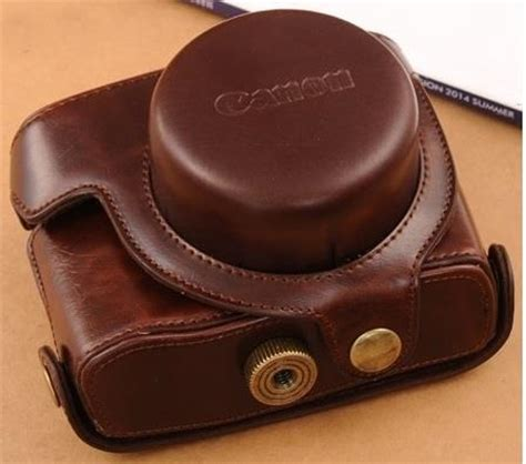 leather case for canon powershot g1x (end 3/22/2018 2:59 am)