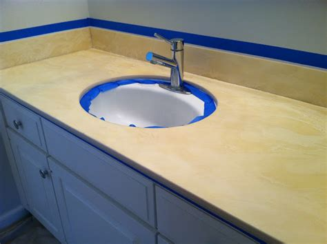 how to paint a bathroom countertop project reveal painted bathroom countertop holtwood