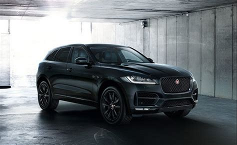 jaguar f pace black jaguar запускает допкомплектацию black edition для трех