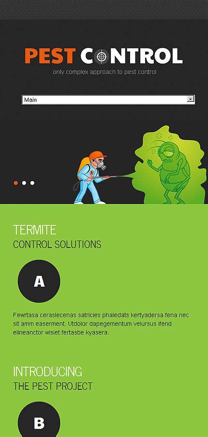 Pest Control Responsive Website Template Web Design Templates Website Templates Download Pest Website Template