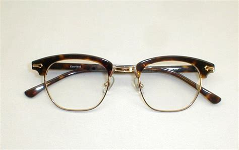 mens vintage eyeglasses grey briar ronsir combo g frames